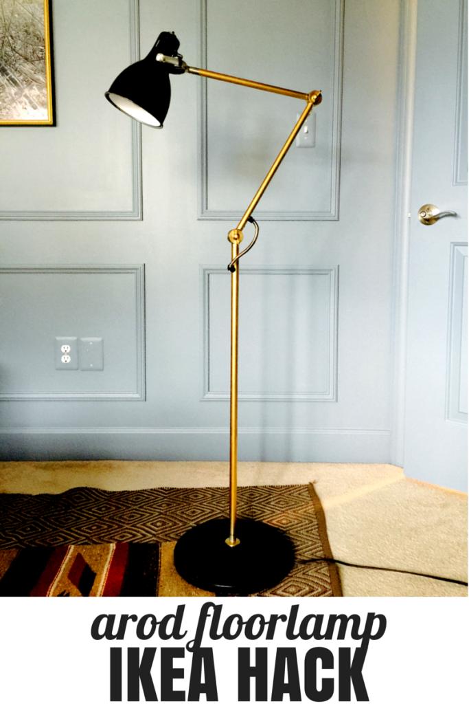 Arod Floorlamp Ikea Hack It Looks Just Like West Elms Industrial