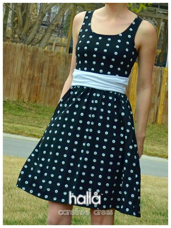 Carefree Dress From Hallå Patterns Crafts Sewing Sewing Adorable Halla Patterns