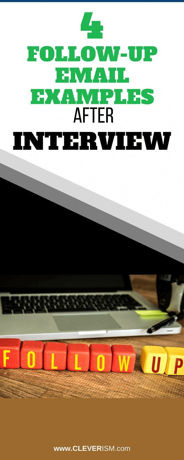 4 Follow Up Email Examples after Interview The
