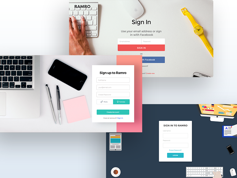 Website Login/Sign Ups | login | Website, Signs, Web Design