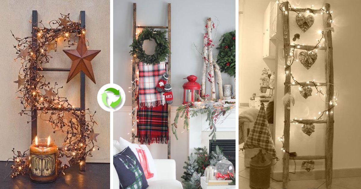 Decorare una scala per Natale! Ecco 20 idee creative... # ...