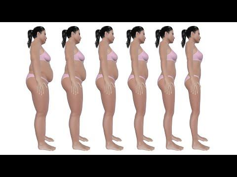 Sie hielt sich nur an diese 7 Dinge und verlor ihr gesamtes Fett in wenigen Tagen natürlich!! - YouTube
