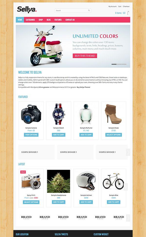 Selly - Stylish WordPress Theme - #shop #ecommerce #theme #template ...