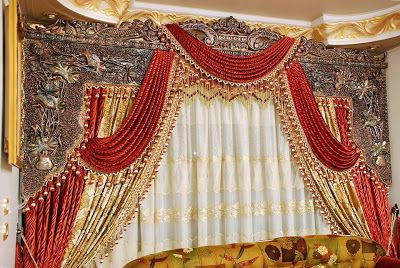 Shining curtain interior designs for living room ~ Stylishly Home Interior Designs