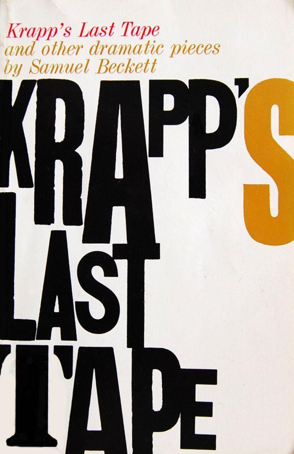 Roy Kuhlman, Krapp's Last Tape, 1960