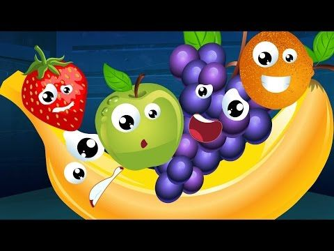 Five Little Fruits Nursery Rhyme Song For Kids Fruit Song Rhymes For Kids Kids Nursery Rhymes