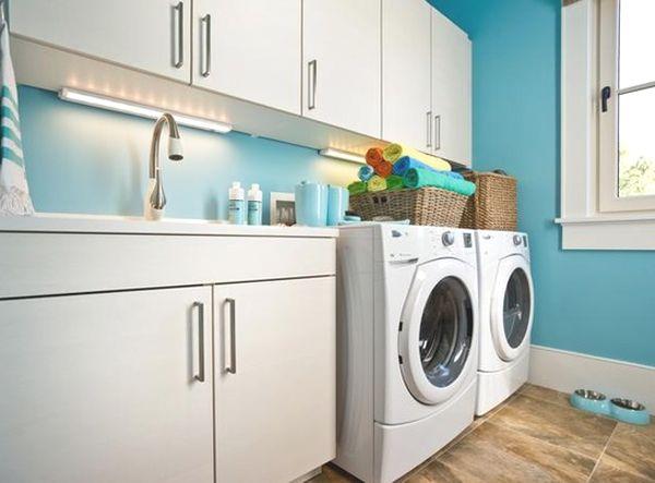 inspiring bright laundry room designs bathroom pinterest rh pinterest com