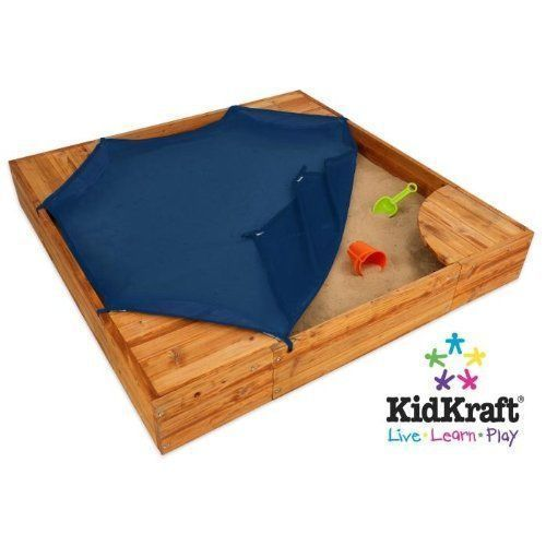 SANDBOX OUTDOOR FUN KIDS PLAY BACKYARD ACTIVITY NEW TOYS WOODEN FREE SHIPPING  #BackyardSandbox