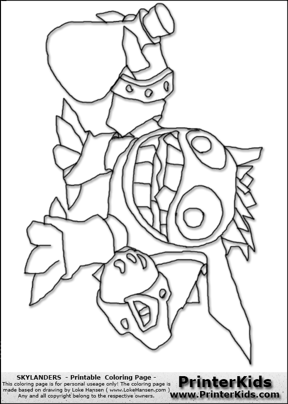 Skylanders Giants Coloring Pages | You are here ...