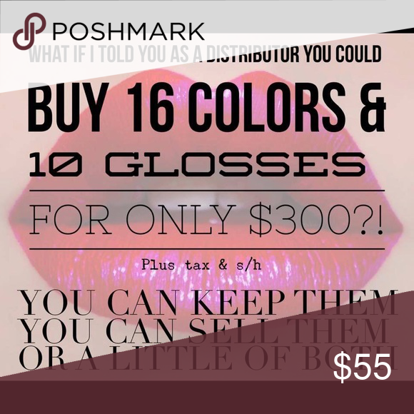 LipSense Distribution!!! Only $55 for a start up fee, no