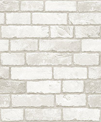 Vintage White Brick Pattern Contact Paper Self Adhesive P Https