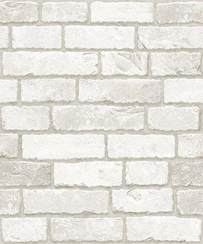 Robot Check Brick Patterns White Brick Diy Interior Decor