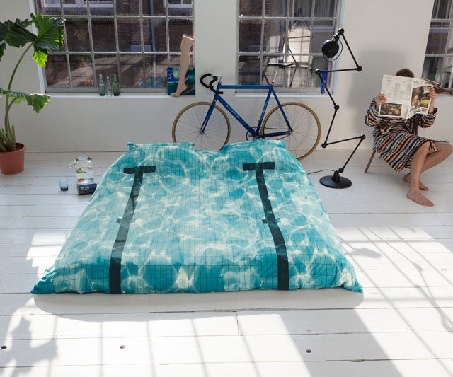 Pool Bedsheets Dudeiwantthat If Either Kid Turns Out To Be A Swimmer They Are Getting These For Christmas