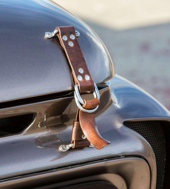Leather Hood Strap Vehicles Custom Ideas Jeep Rat Rod