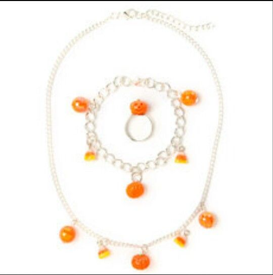Claire's halloween necklace