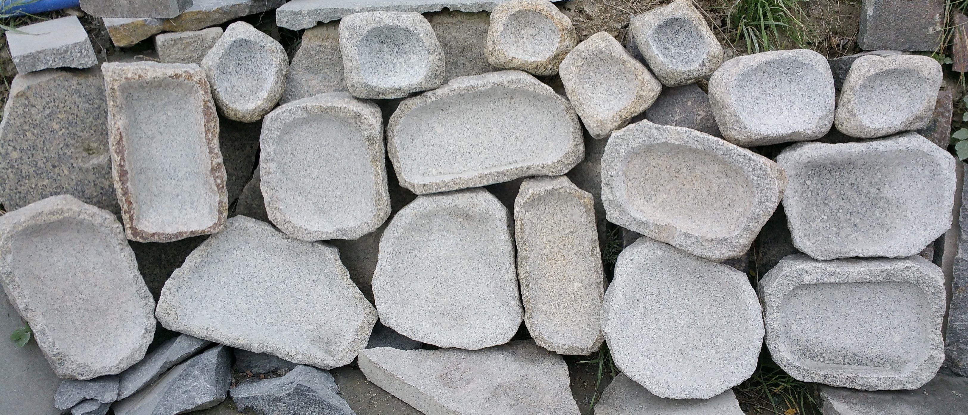 Wassertrog, Vogeltraenke aus Granit | Granit Brunnen von www.sgran ...