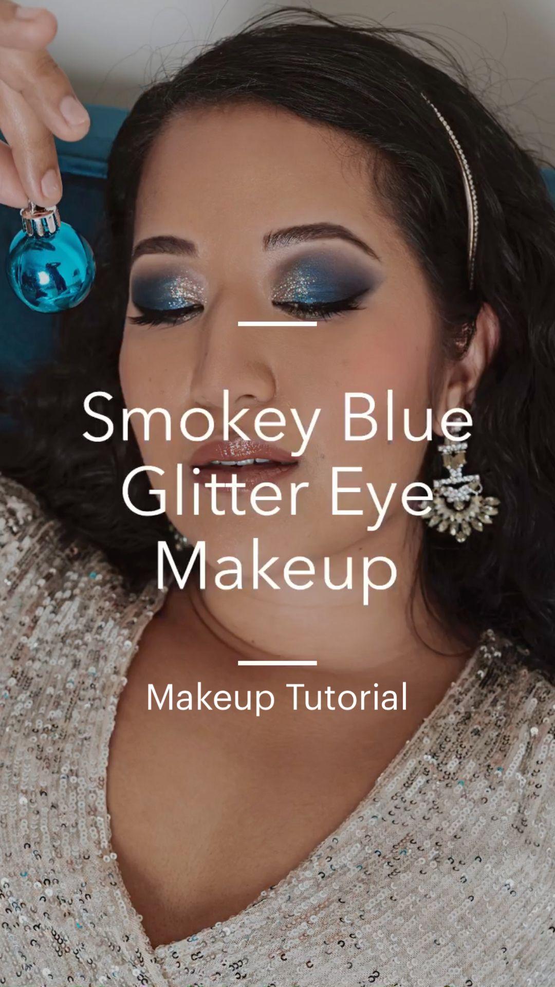 Makeup Tutorial- Smokey Blue Eyes