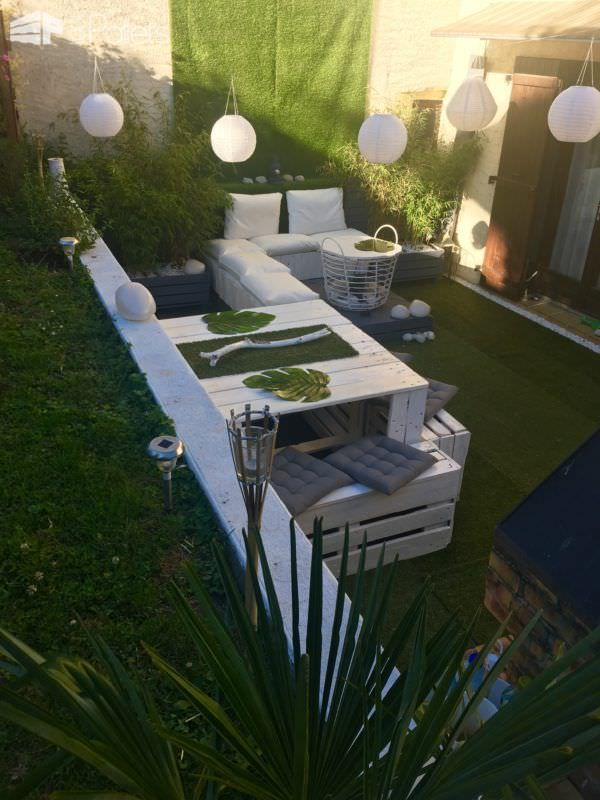 Elegant Garden Lounge Set | Elegant, Salons and 1001 pallets