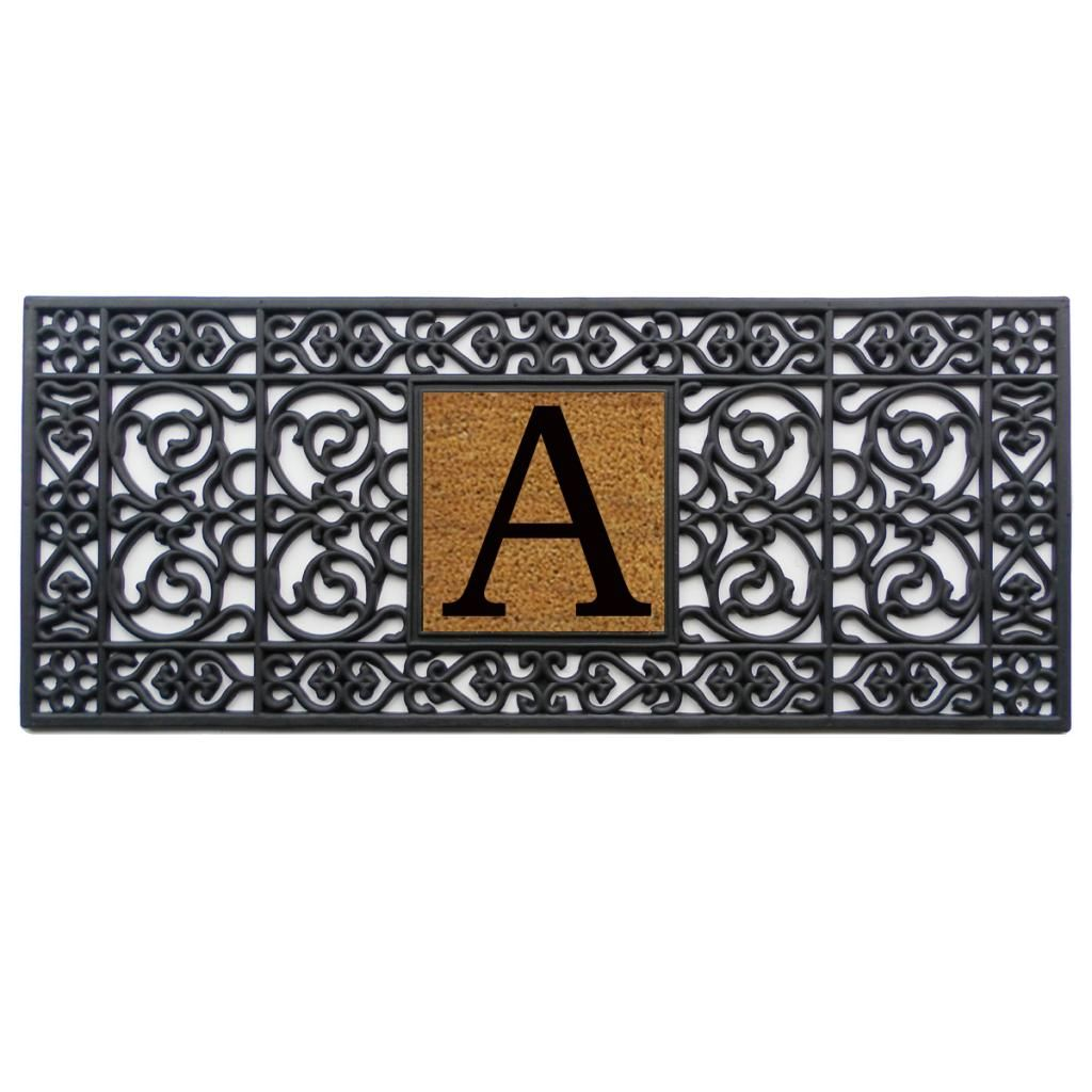 How can you tell if you have black mold  Welcome guests into your home in style with this rubber monogrammed