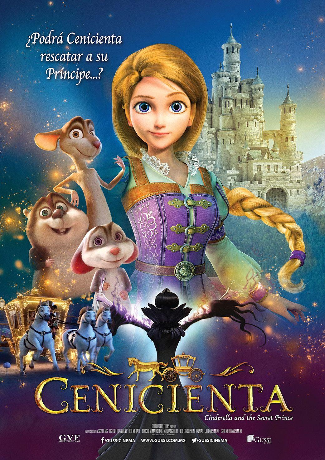 ผลการค้นหารูปภาพสำหรับ Cinderella poster 2019 movie
