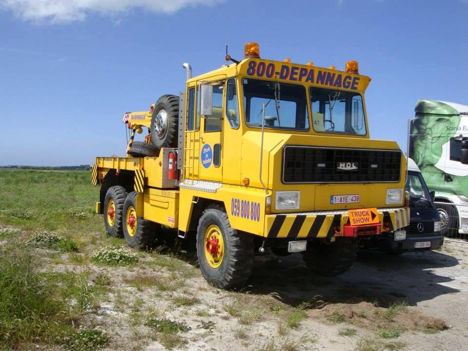 MOL MOL 6X6 TOW 800 Depannge Trucks, Tow truck, Towing