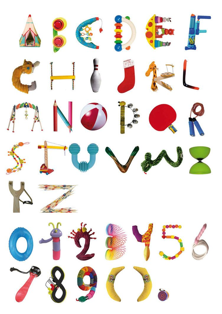 Toys Alphabet Poster By ArtAbuser  Alphabet    Toy And