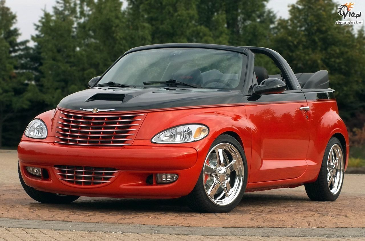 Custom Chrysler Pt Cruiser Convertible Jpm