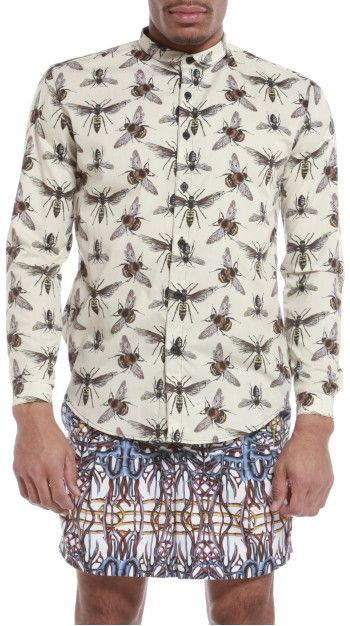 paulo succar | | traditional button down men's shirt in a non ...
