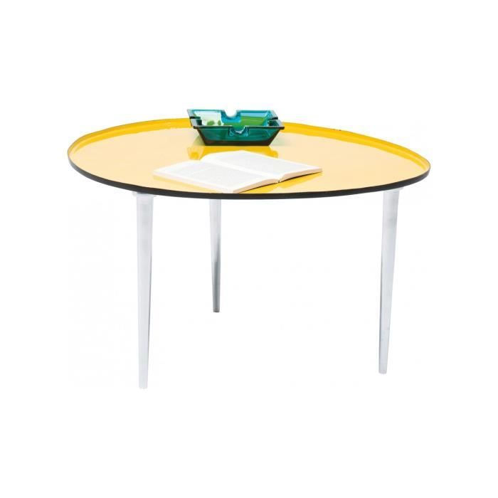 EGG by Kare Table basse jaune - 135€ | Meubles
