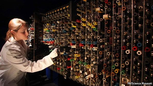 The Science Museum's Alan Turing exhibition: A beautiful mind | The Economist