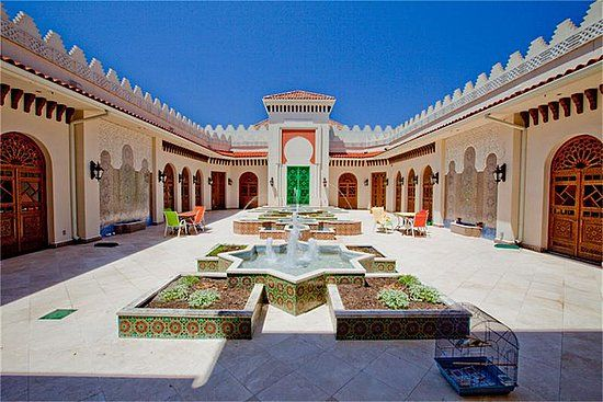 Moroccan style house plans