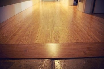 The Simplest Way To Link Floor Tile And Hardwood Of Different