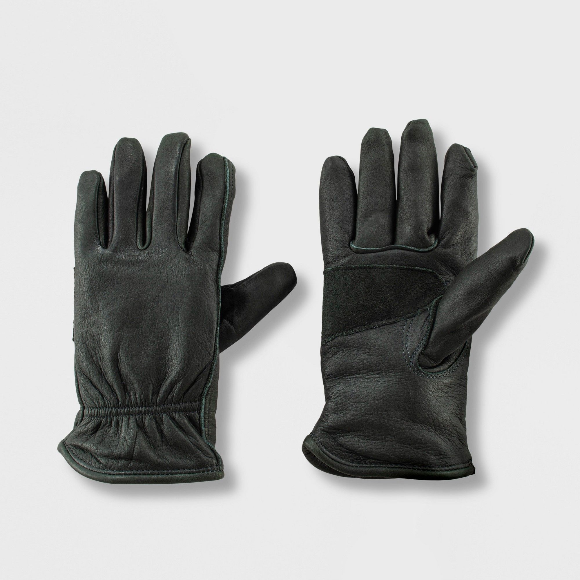 Mens touchscreen Geniune Leather Gloves Winter Warm Driving Cashmere Fleece Lining Gift Packing