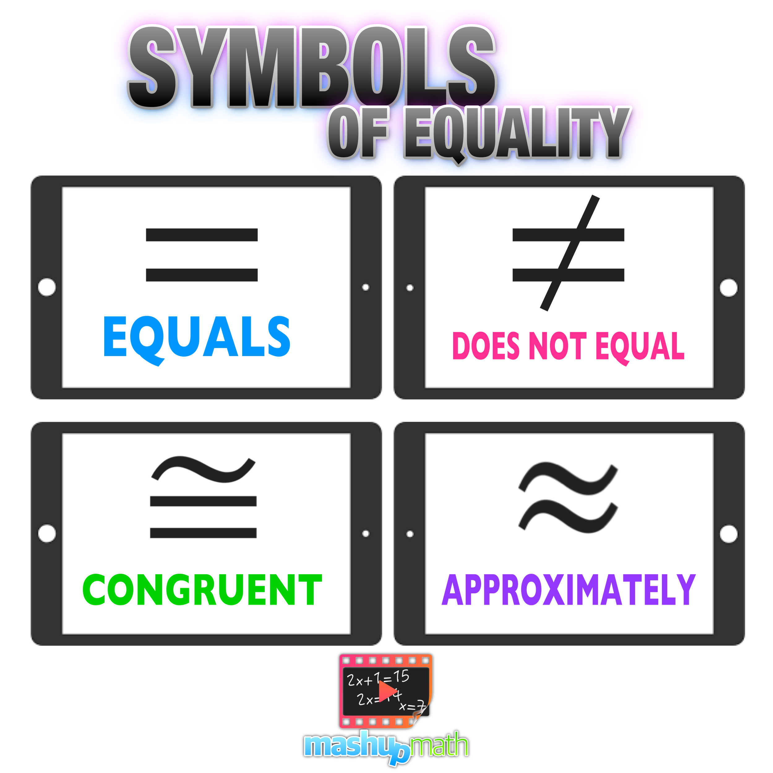 Do You Know The Symbols Of Equality