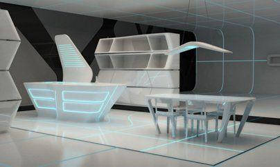 Dise o de cocinas cocinas futuristas en linea 3 cocinas for Diseno de cocinas integrales en linea