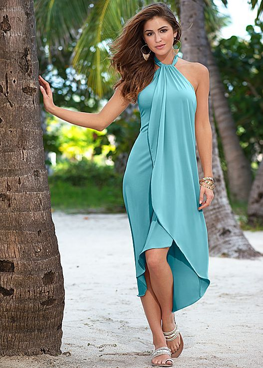 55517e98dd Waterfall maxi dress | Women's Fashion | Dresses, Fashion, Honeymoon ...
