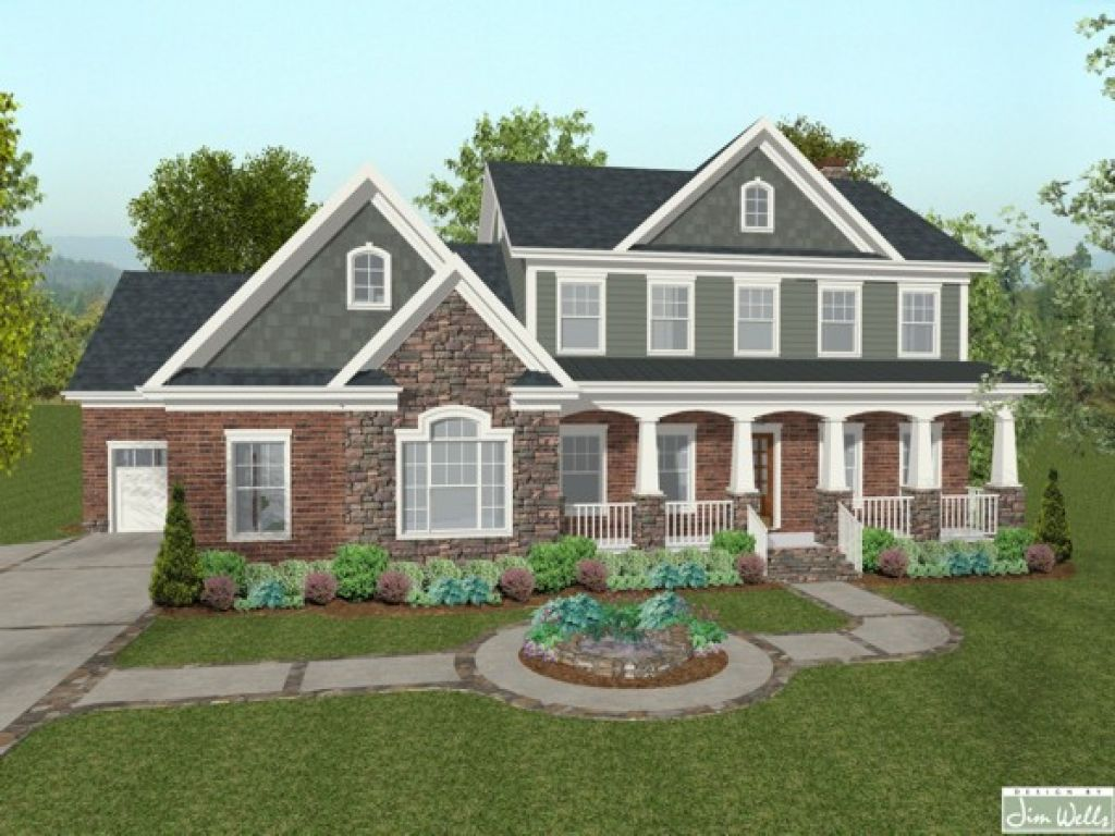 houses-with-brick-and-stone-siding-blue-brick-house-lrg ... on new construction house designs, roof house designs, wood house designs, log house designs, basement house designs, garage house designs,