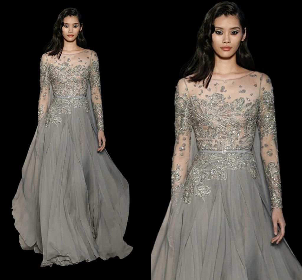 New arrival sexy elegant elie saab prom dresses party evening