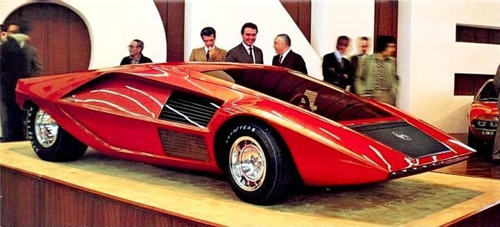 1971 Lancia Fulvia HF Stratos Bertone Concept