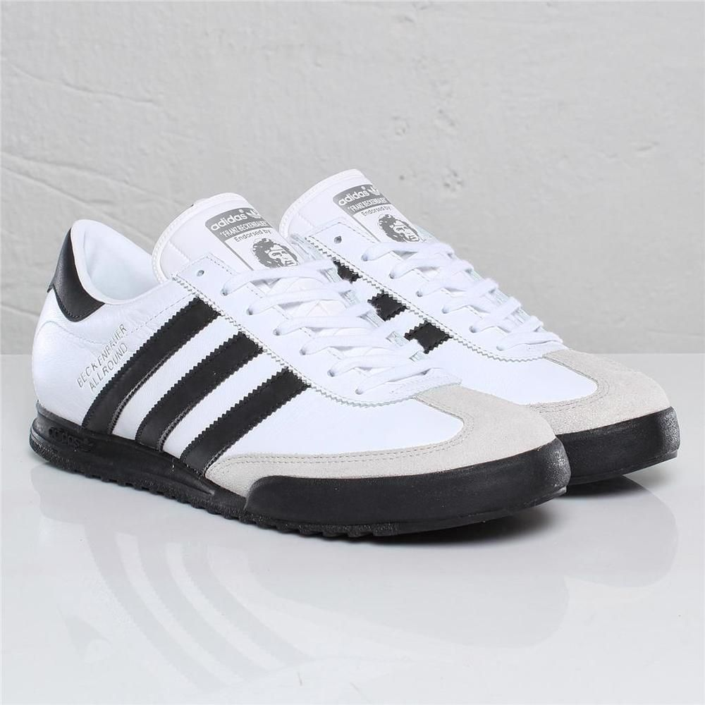 sneakers for cheap 108d1 6894a neuf ADIDAS BECKENBAUER ALLROUND Original pour hommes Baskets sz 7-12uk