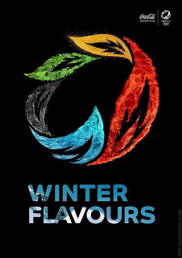 Sochi 2014 Winter Olympics Official Logo Bid by Transformer Studio , via Behance