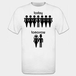 Wonderlijk Today Tomorrow / Bachelor Party T-shirt (met afbeeldingen ZR-83