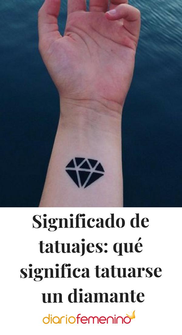16 Significado de diamante tatuaje