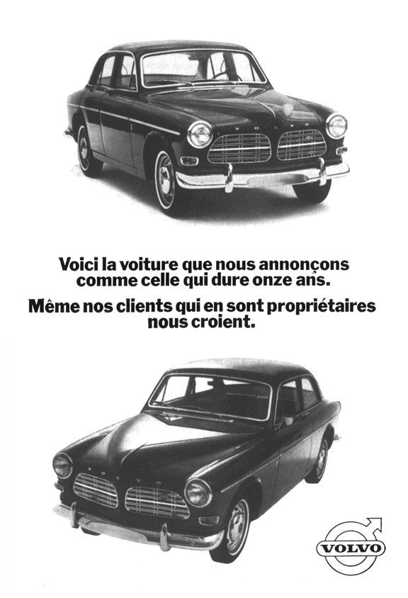 1967 Volvo 1500 Poster Size Ad by AtomicScrapbook on Etsy