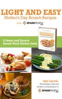 Free SparkPeople e-book: Mother's Day brunch recipes