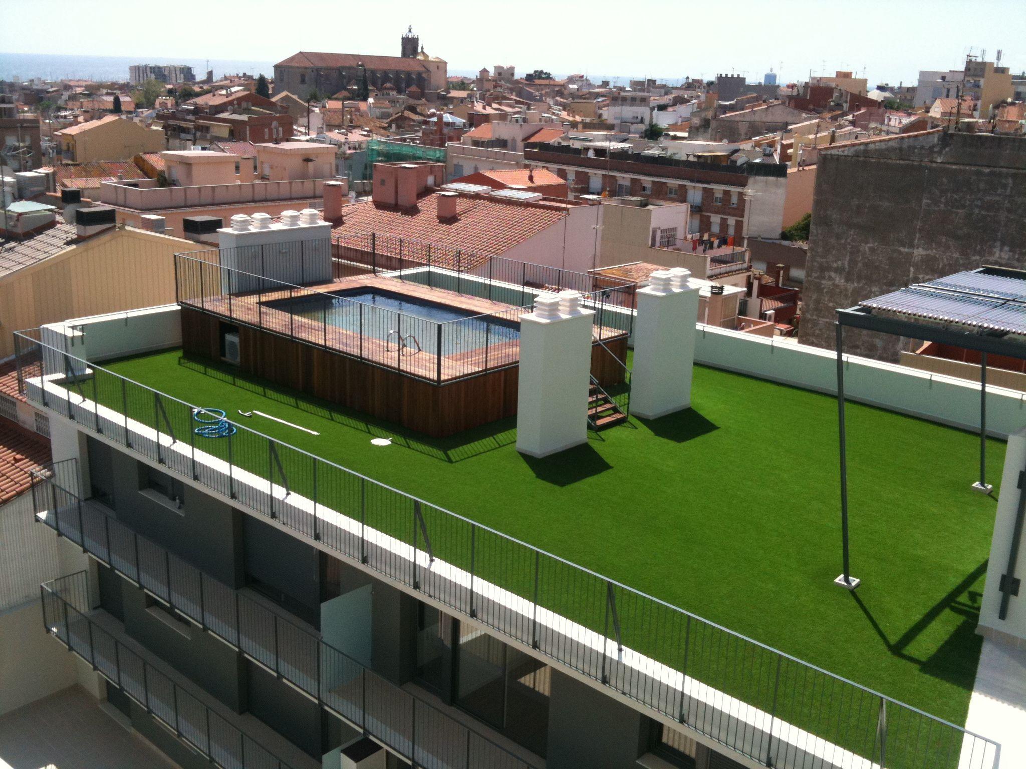 construcci n de piscinas en aticos o terrazas