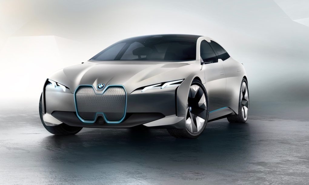 Bmw Unveils Dynamic New Rival To The Tesla Model S Cars