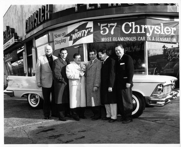 A Vintage Press Shot Of Comic Legend Lou Costello Receiving The Keys To A Brand New Chrysler Imperial Circa 1 Abbott And Costello Chrysler Imperial Chrysler
