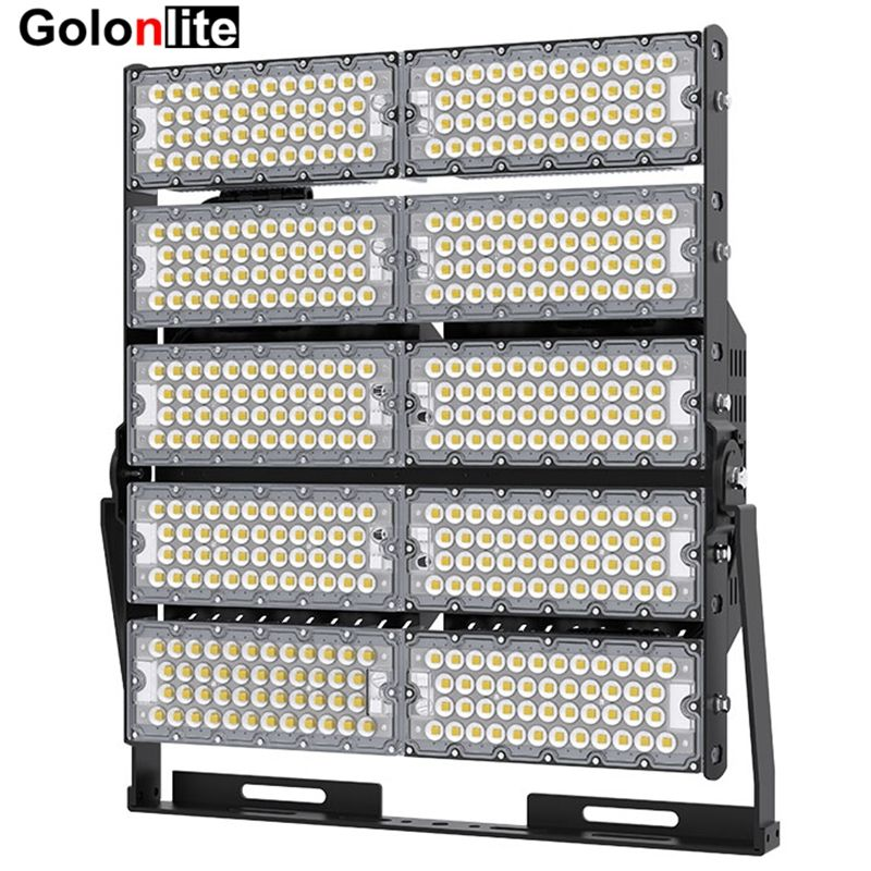 High Power Led Flood Light For Stadium Basketball Tennis Volleyball Courts 160lm W 1500w 1200w 1000w 900w 800w 720w 600 Led Flood Lights Led Flood Flood Lights
