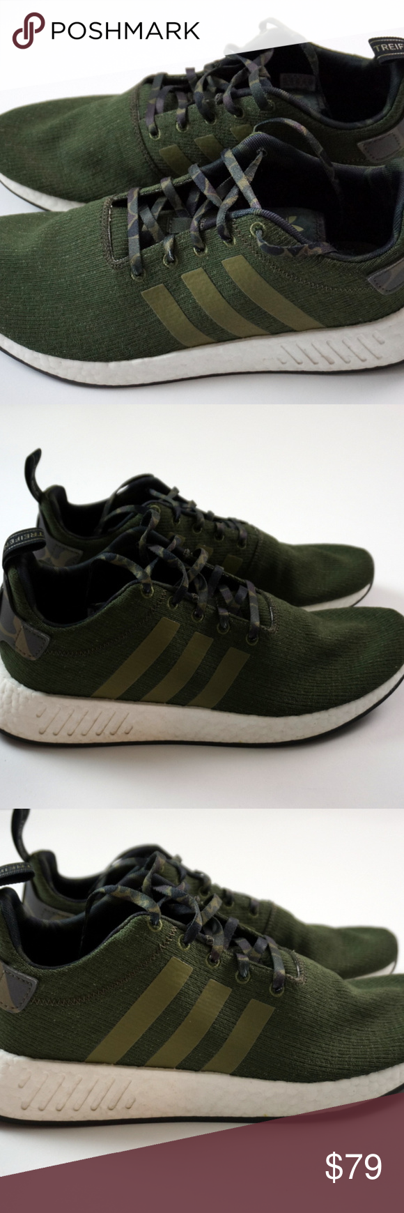 save off a44a9 cf2cd Mens Adidas Nmd Boost R2 Knit Size 11.5 Camo Mens Adidas Nmd ...